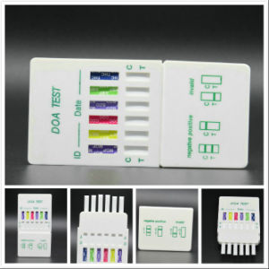 5 Panel Urine Drug Test Card DIP Card Cassette Cup Kit Device pictures & photos