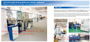 Optical Fiber Cable Extrusion Line pictures & photos