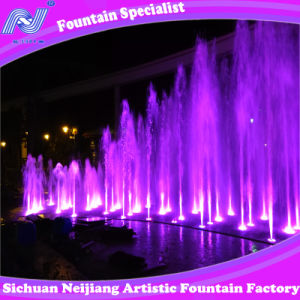 Music Running Fountain, Water Fountains pictures & photos