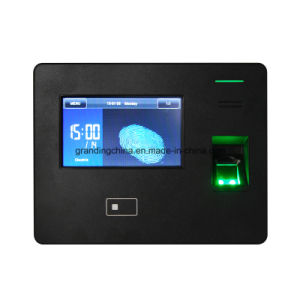 Wireless WiFi/GPRS/3G Fingerprint Time Attendance Scanner with Large Capacity (GT300) pictures & photos