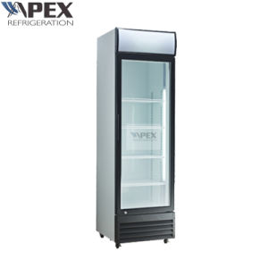 Glass Door Upright Display Cooler with Ce, CB, RoHS pictures & photos