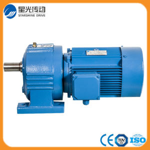 Iron Cast Helical Gear Speed Reducer for Electric Motor pictures & photos