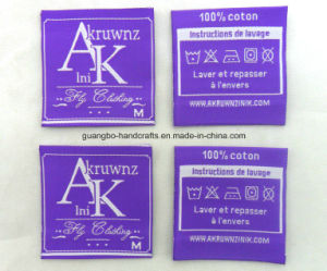 Fancy Custom Design Woven Labels Cloth Label pictures & photos