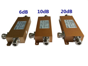 6dB 10dB 20dB Dirctional Coupler 698-2700MHz Low Pim /Intermodulation pictures & photos