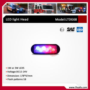 LED Warning Car Headlight (LTDG68) pictures & photos
