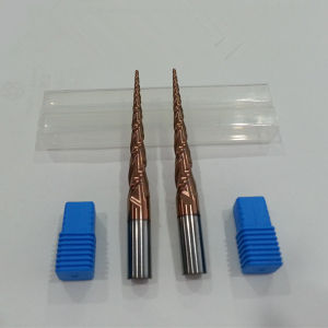 Solid Carbide Taper Ball Nose End Mills From Factury pictures & photos