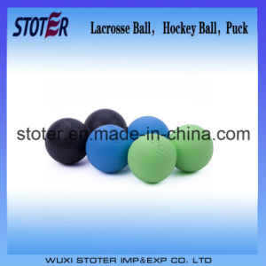 63mm Solid Laser Engraved Lacrosse Ball pictures & photos