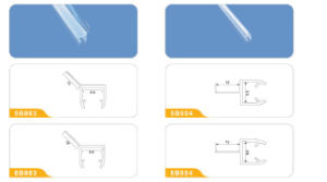Shower PVC Seals for The Bottom of Glass Door pictures & photos
