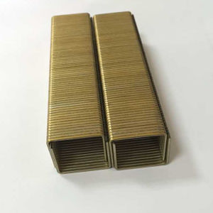 Hlwj Manufacturer Direct Supply Galvanized 84 Industrial Staple, Wood 4-14mm Staples Nail pictures & photos