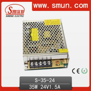 35W 24V 1.5A AC/DC Single Output Switching Power Supply pictures & photos