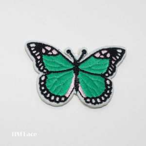 Custom Design Paillette Butterfly Shaped Embroidery Textile Patch for Clothes Blouse Lady Dresses pictures & photos