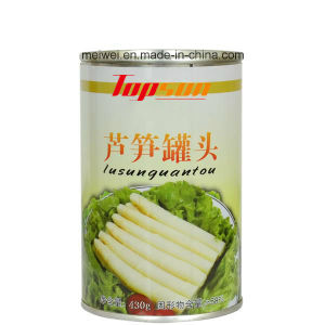430g Canned Asparagus in Tin pictures & photos