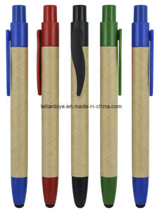 Recycled Paper Stylus Ball Pen (LT-C283) pictures & photos