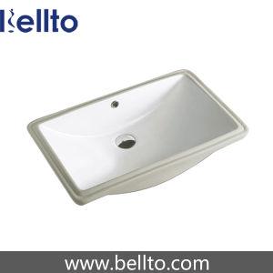 Bathroom undermount Ceramic Sink with quartz stone (230D) pictures & photos