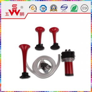 Spiral Red Three-Way ABS Air Horn pictures & photos