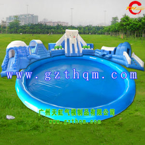 Inflatable Long Water Slide/Giant Inflatable Water Slide pictures & photos