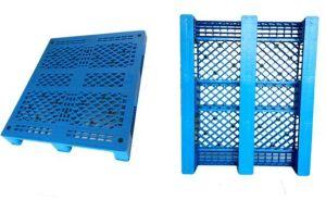Stackable Durable Mobile Plastic Pallet, Storage Pallet pictures & photos