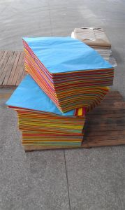 Printed Hot Sale 17GSM Tissue Paper pictures & photos
