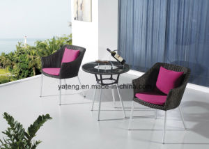 Gentel Design Popular Patio Garden Coffee Set by Chair & Coffee Table (YT940-1) pictures & photos
