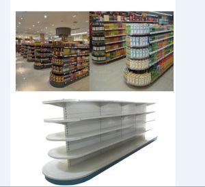 Half Round Metal Gondola Display Shelf for Supermarket pictures & photos