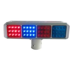 Solar Traffic Warning Light/LED Flashing Light pictures & photos