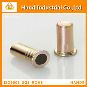 Stainless Steel Flat Head Knurled Closed End Rivet Nut pictures & photos
