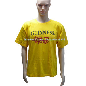 Factory Direct Wholesale Promotional Yellow T Shirt pictures & photos