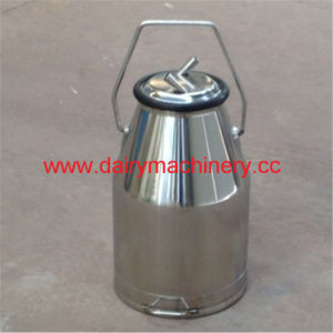 Milking Machine Stainless Steel Milk Can with Handle pictures & photos