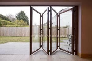 Aluminium Folding Interior Door Price pictures & photos