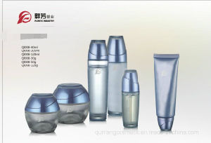 The Water Ripples The Series Cosmetic Glass Bottle Qf-053 pictures & photos