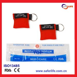 Ce FDA Approved CPR Face Shield with Nylon Bag Emergency Mask for Promotional Mouth to Mouth Kit pictures & photos