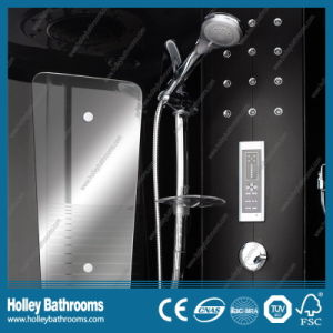 Excellent Multifunctional Steam Shower Room with Striated Translucent Glass Door (SR117B) pictures & photos