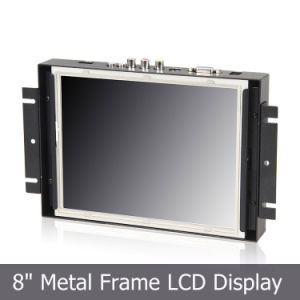 "8"" Open Frame TFT Monitors with 4-Wire Resistive Touch Screen pictures & photos"