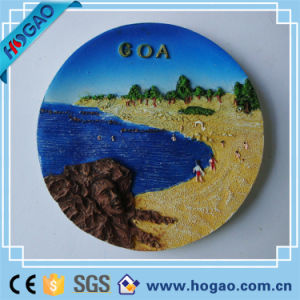 Beautiful Resin Scenery Plate Sand and Sea pictures & photos