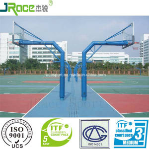 User Friendly Design Polyurethane Sports Surfaces with Itf Certificate pictures & photos