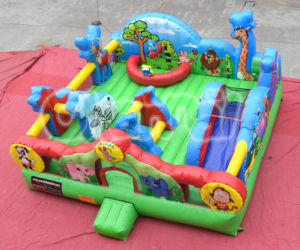 Wild Life Animal World Inflatable Bouncy Castle Chb272 pictures & photos