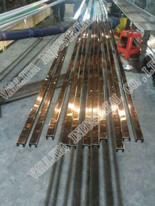 Groove Stainless Steel Tube pictures & photos