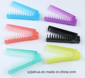 Hair Care Comb/Foldable/Portable Plastic Comb (GHC013) pictures & photos