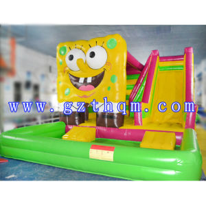 Animal Inflatable Bouncers/Inflatable Castle with HD Cartoon Printing pictures & photos