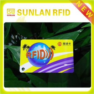 PVC RFID Printing Card From Sunlanrfid Company pictures & photos