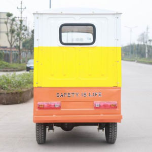 China Supplier Bajaj Passenger Tricycle Taxi pictures & photos