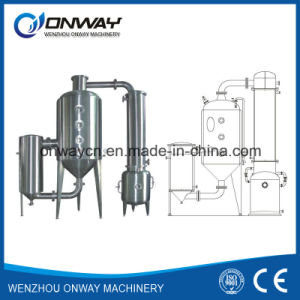 Wz High Efficient Vacuum Raising Film Single Effect Evaporator Hydro Distillation pictures & photos