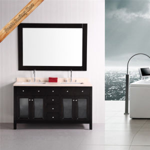 Black Matt Finishing Bathroom Vanity pictures & photos