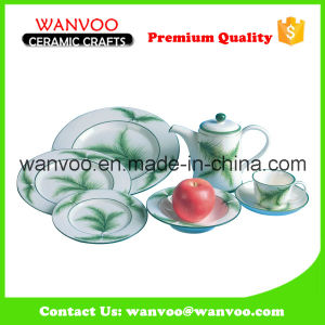 Customized Round Ceramic Dinner Set Modern Dinner Set pictures & photos