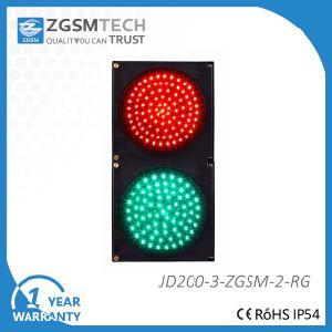 200mm 8 Inch Red Green Vehicle LED Signal Traffic