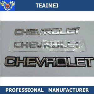 ABS Plastic Auto Chrome Nameplate Car Emblem Badge pictures & photos