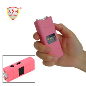 2017 High Quality Mini Stun Guns with Zap Light-Pink (TW-801) pictures & photos