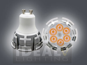 LED GU10 6X1w Spotlight with Dimmable New Design