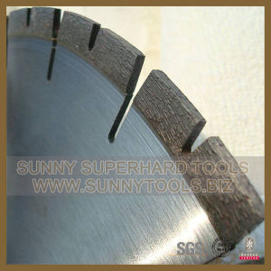 U-Gullet Segmented Brazed Diamond Saw Blade for Granite Cutting pictures & photos