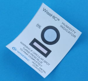 8% Cobalt (HIC) Humidity Indicator Card (WiseHIC) pictures & photos